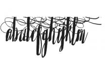 Saltywaters Alternates otf (400) Font UPPERCASE