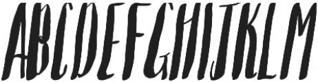 Saltywaters Standard otf (400) Font UPPERCASE