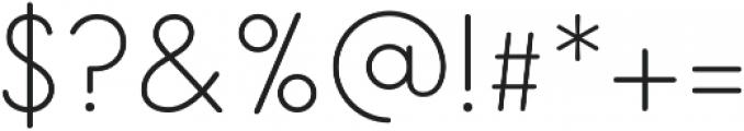 Salve Sans Bold otf (700) Font OTHER CHARS