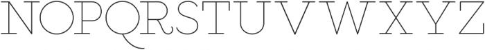 Salve Serif otf (400) Font LOWERCASE