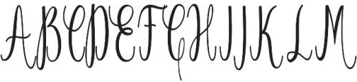 Salwa otf (400) Font UPPERCASE