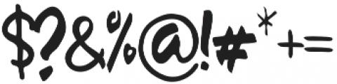 Sambay Regular otf (400) Font OTHER CHARS