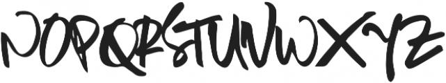 Sambay Regular otf (400) Font UPPERCASE