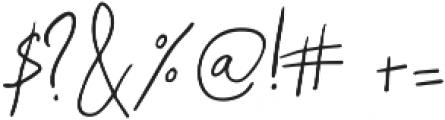 Samiyatta Script ttf (400) Font OTHER CHARS