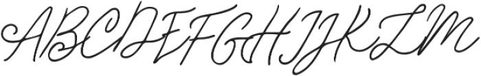 Samiyatta Script ttf (400) Font UPPERCASE