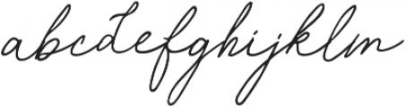 Samiyatta Script ttf (400) Font LOWERCASE