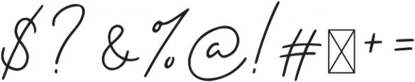 Samoset Regular otf (400) Font OTHER CHARS