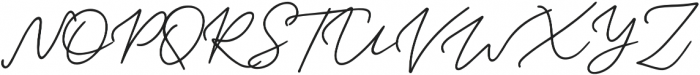 Samoset Regular otf (400) Font UPPERCASE