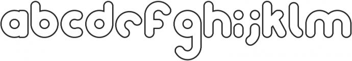 Samson Outline otf (400) Font LOWERCASE