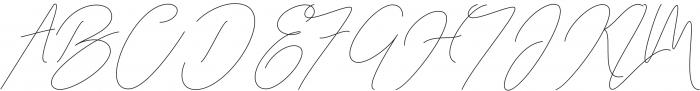 San Francisco Regular otf (400) Font UPPERCASE