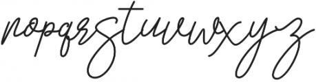 San Francisco Regular otf (400) Font LOWERCASE