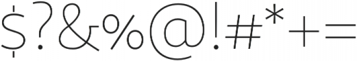 Sana Sans Alt Bold otf (700) Font OTHER CHARS