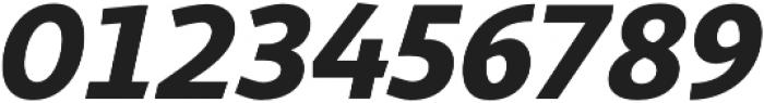 Sana Sans Alt Book Italic otf (400) Font OTHER CHARS