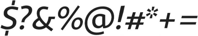Sana Sans Alt Medium otf (500) Font OTHER CHARS