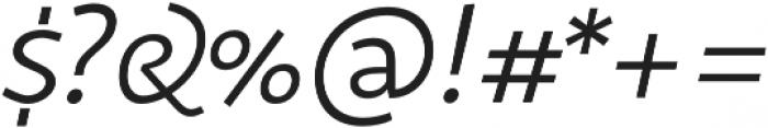 Sana Sans Alt Thin otf (100) Font OTHER CHARS