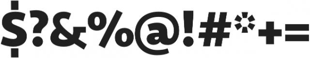 Sana Sans Bold otf (700) Font OTHER CHARS