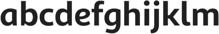 Sana Sans Light Italic otf (300) Font LOWERCASE