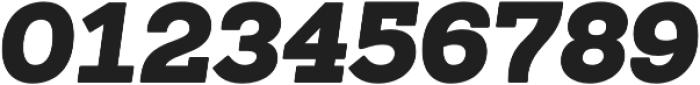 Sanchez Black Italic otf (900) Font OTHER CHARS