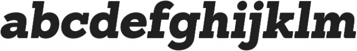 Sanchez Black Italic otf (900) Font LOWERCASE