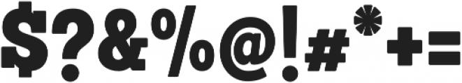 Sanchez Condensed Black otf (900) Font OTHER CHARS