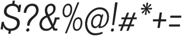 Sanchez Condensed Light Italic otf (300) Font OTHER CHARS