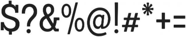 Sanchez Condensed Regular otf (400) Font OTHER CHARS