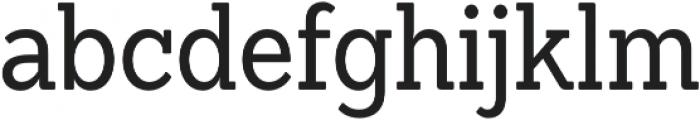 Sanchez Condensed Regular otf (400) Font LOWERCASE