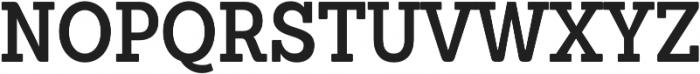 Sanchez Condensed SemiBold otf (600) Font UPPERCASE