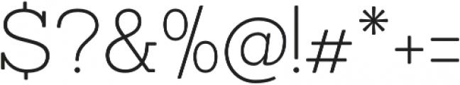 Sanchez ExtraLight otf (200) Font OTHER CHARS