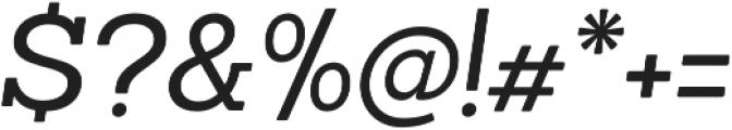 Sanchez Italic otf (400) Font OTHER CHARS