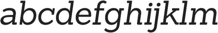 Sanchez Italic otf (400) Font LOWERCASE