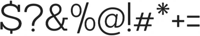 Sanchez Light otf (300) Font OTHER CHARS