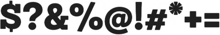 Sanchez Niu Black otf (900) Font OTHER CHARS