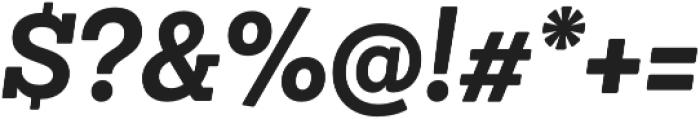 Sanchez Niu Bold It otf (700) Font OTHER CHARS