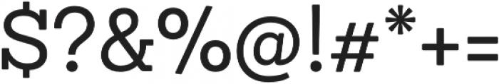 Sanchez Niu otf (400) Font OTHER CHARS