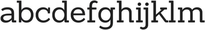 Sanchez Regular otf (400) Font LOWERCASE