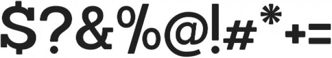 Sanchez SemiBold otf (600) Font OTHER CHARS