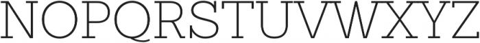 Sanchez Slab ExtraLight otf (200) Font UPPERCASE