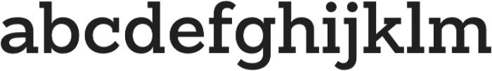 Sanchez Slab SemiBold otf (600) Font LOWERCASE