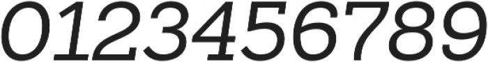 Sanchez Slab otf (400) Font OTHER CHARS