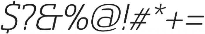 Sancoale SlSf otf (300) Font OTHER CHARS