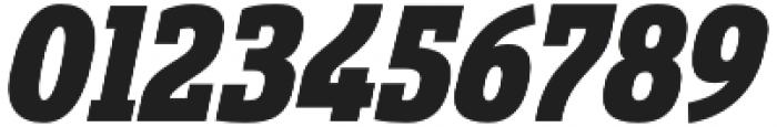 Sancoale Slab Cond Black Ital otf (900) Font OTHER CHARS