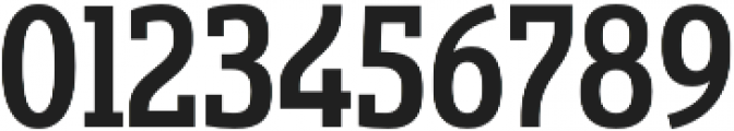Sancoale Slab Cond Medium otf (500) Font OTHER CHARS