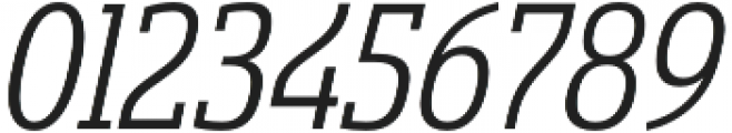 Sancoale Slab Cond Regular Ital otf (400) Font OTHER CHARS