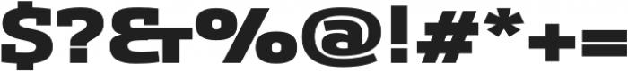 Sancoale Slab Ext Black otf (900) Font OTHER CHARS