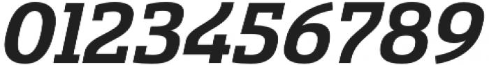 Sancoale Slab Ext Bold Ital otf (700) Font OTHER CHARS
