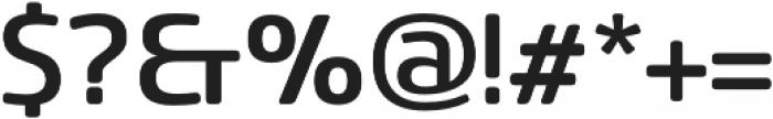 Sancoale Softened Medium otf (500) Font OTHER CHARS