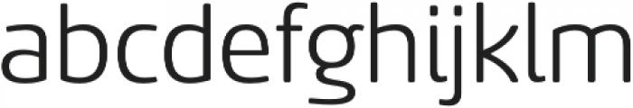 Sancoale Softened Regular otf (400) Font LOWERCASE