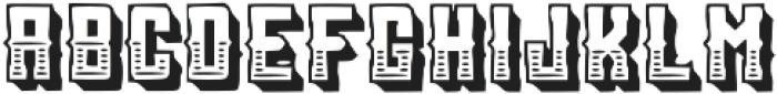 Sanctum_LineShadow otf (400) Font LOWERCASE