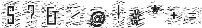 Sanctum_Woodcut otf (400) Font OTHER CHARS